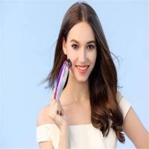 China Led Photon Ultrasonic Therapy Machine Portable 7 Color Light Face Skin Care Device Anti-ageing Rejuvenation Facial Massa on sale