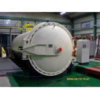 Quality Steam Brick Industrial Autoclave Pressure Φ3m For Glass Deep - Processing wholesale