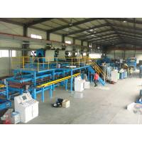Quality Roofing / Wall Polyurethane Sandwich Panel Production Line With CE Certificate wholesale