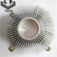 Quality Round Fin Aluminum Extrusion Heat Sinks For CPU Cooler For Large Equipment Heat Dissipation wholesale