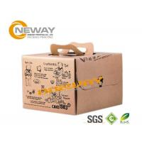 Quality Full Color Offset Printing Christmas Cookie Custom Gift Boxes With Kraft Paper wholesale