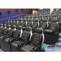 Quality Customized Color 5D Theater System Seats Used For Center Park And Museum wholesale