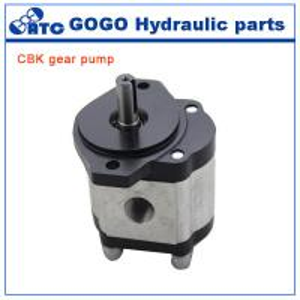 China Rotary CE CBK hydraulic gear pump , jcb tractor hydraulic fuel pump on sale