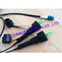 Quality SC Fiber Optic Patch Cord , 5m Outdoor Armored Fiber Optic Cable With Odva Connectors wholesale