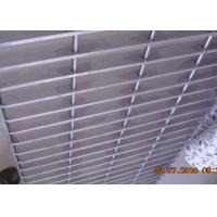 Quality Plain Bar Stainless Bar Grating , Anti Corrosive Floor Grates Stainless Steel wholesale