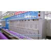 China Industrial Embroidery Machines Single Needle Quilting Machine With Smooth Stitch on sale