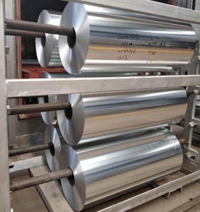 Quality Alloy Household Aluminum Foil AA1235 O 6.35 Micron X 1095mm 5.2-30 Mic Gauge wholesale