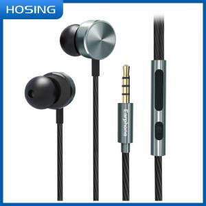 China Omnidirectional Durable Wired Earbuds With Volume Control on sale