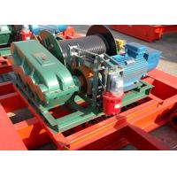 China 20 Ton Wire Rope Electric Winch Trolley Hoist For Overhead Crane on sale