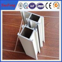 Quality Silver anodized aluminium profiles fabricate windows&doors wholesale