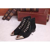 Quality Wholesale Top grade fashion high band women pointed branded leather lace-up shoes female wholesale