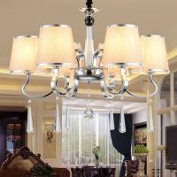China Modern chandelier ceiling lights with lampshade for living room Bedroom Lighting (WH-MI-44) on sale