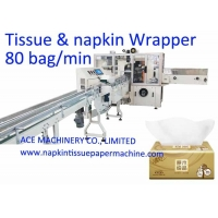 China Automatic Box Drawing Facial Tissue Packing Machine on sale
