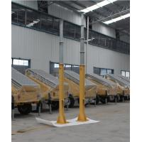 8m manual winch telescopic mast/steel telescopic mast/ lighting telescopic mast
