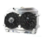 Quality Full Aluminum 3 Row Replacing Radiator With Shroud Fan For Datsun 240Z 260Z 1970 1971 1972 1973 1974 1975 wholesale