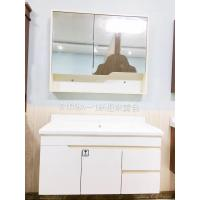 Cheap Mirror Cabinet Modern Wall Mounted Bathroom Vanities 40 Inches Plywood for sale