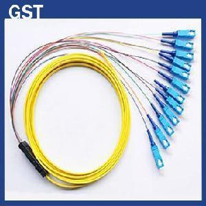 Quality Fiber Optic Pigtail -SC/PC- 12 Cores Fanout wholesale