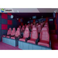 Quality Hydraulic 5D HD Movie Theater With 55 inch displayer / 6 seats wholesale