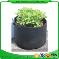 Quality Charcoal Durable Fabric Grow Pots , Perfect Heavy Harvest Planter Raised Bed wholesale