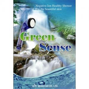 Quality Green sense anion water saving shower head wholesale