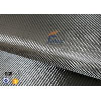 Cheap 3K 200g 0.3mm Twill Weave Carbon Fiber Fabric For Reinforcement , Thermal for sale