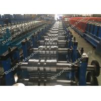Quality Galvanized Steel Upright Highway Guardrail Roll Forming Machine Custom Design wholesale