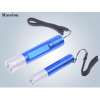 Quality Torch Mini LED Emergency Flashlight Aluminum Alloy Material 19.5X101mm Size wholesale