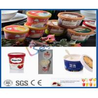 China 500L Plastic Cup Dairy Processing Plant , Professional Ice Cream Making Machine on sale