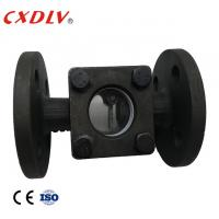 "Quality 1/2""Sight Glass Flange Ends WCB Swing Type PN16 Water Glass Casting/Pyrex Glass, with flapper wholesale"