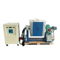Quality IGBT induction melting furnace, casting machine for steel, copper,  Alu, silver, polycrystalline silicon wholesale