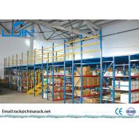 Warehouse Storage Rack Supported Mezzanine Floor Racking System