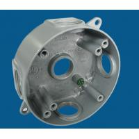 "Quality 4"" Round Waterproof Electrical Box With 5 Outlet Holes Aluminum Die Cast MATERIAL wholesale"