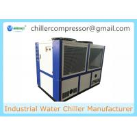 Quality 25 Tons Industrial Air to Water Cooled Chiller for Powder Coating wholesale