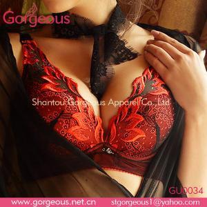 Quality Phoenix cotton lace fashion bra set wholesale