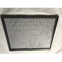 Quality Back Metal Grid Plate Custom Sheet Metal Fabrication For Household Appliance wholesale