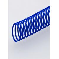 China Pvc Pet Colorful Plastic Spiral Wire , Plastic Spiral Coil For Books Binding on sale