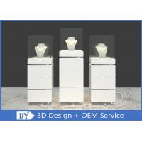 Quality Contemporary MDF Jewelry Display Stand / Jewelry Display Cabinet wholesale