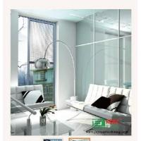 China Distinguished hanging single-sliding screen door on sale