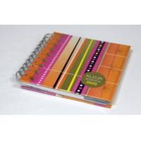 China Custom Art Paper , Cardboard Spiral notebook printing Services With Film Lamination on sale