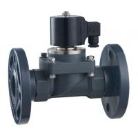 Cheap ZCF-P-F/H series 2-way flange and quick fitting anti-corrosive solenoid valve  DN15~40mm for sale