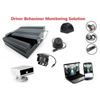 Quality HHD 4Ch 3G GPS Vehicle Security Camera System Support Driver Fatigue Monitoring wholesale