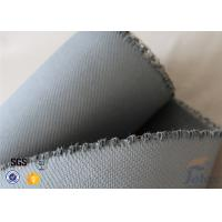 Quality 1550G 1.5MM Thermal Insulation Materials Grey Silicone Coated Fiberglass Fabric wholesale