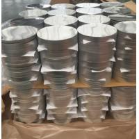 Cheap Corrosion Resistant Anodized Aluminum Discs , Aluminum Disk Blanks SGS Approval for sale