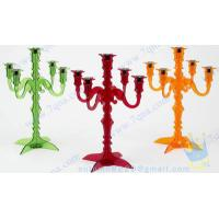 Quality Antique Acrylic Candle Holder For Home Decoration wholesale