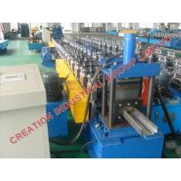 Quality Automatic Metal Door Frame Making Machine With Cr12 Mould Steel Rollers wholesale