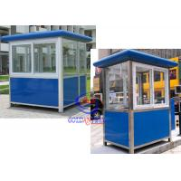 Quality Thermal Insulated Prefabricated Security Guard Room with electricity fittings wholesale
