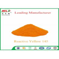 Quality 180 Solubility Reactive Yellow Fabric Dye WDE C I Yellow 145 One Phase Printing Process wholesale