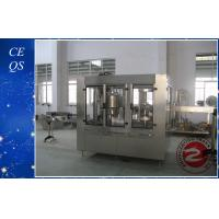 China Polyester / PET Pure Water Bottle Automatic Liquid Filling Equipment on sale