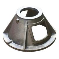 Quality Custom GGG40 Material Ductile Cast Iron Parts Green Sand Casting Process wholesale