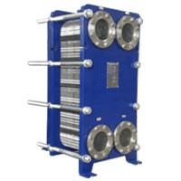 Quality High Transfer Efficiency Stainless Steel Plate Heat Exchanger / Chiller Accessories With Different Heat Exchange Area wholesale